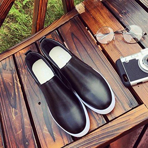 Le Scarpe Da Passeggio Slip-on Da Donna Sikye, Le Scarpe Da Sneaker A Piattaforma Dal Fondo Spesso Comodo E Comodo Ti Amano Stampare Il Nero