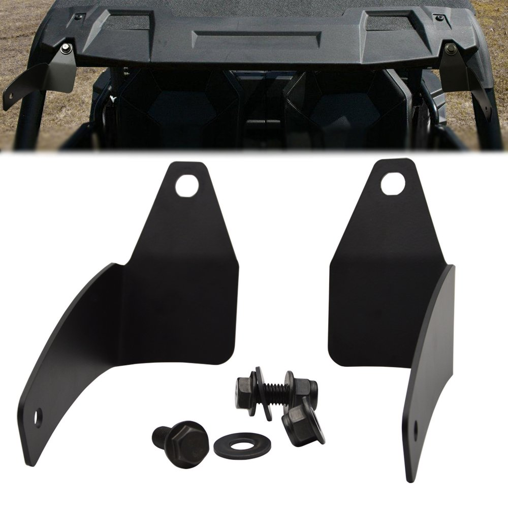For 30'' LED Light Bar Below Roof Mounting Brackets Fits Polaris RZR XP 1000 900 Models by XJMOTO (Image #4)