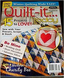 Quilt-it Today Magazine January/February 2014: Amazon.com: Books : quilting today magazine - Adamdwight.com