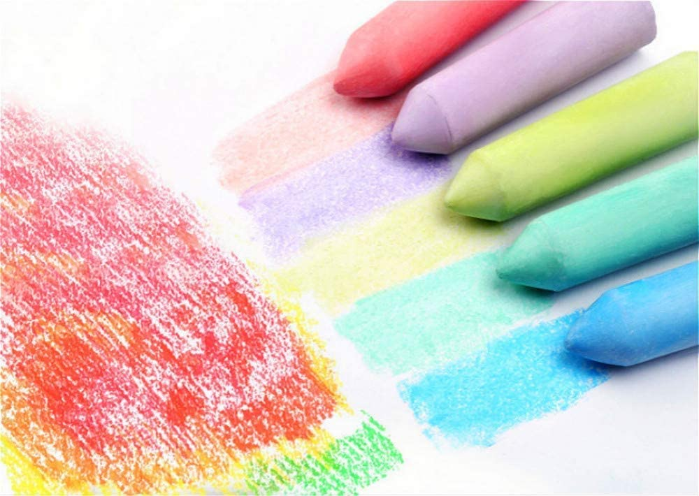 15 Colors Chalk Dustless Chalks Indoor Outdoor Childrens Chalk Bars Driveway Fun Washable Sidewalk Chalk Set