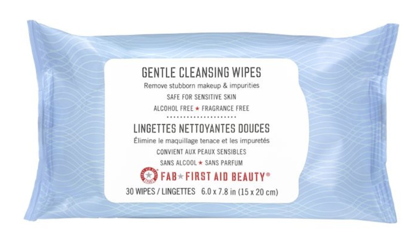 First Aid Beauty Gentle Cleansing Wipes, 30 Count