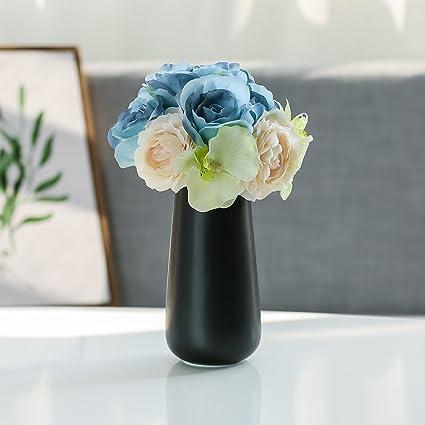 Amazon Dvine Dev Gift Box Packaged White Ceramic Flower Vases