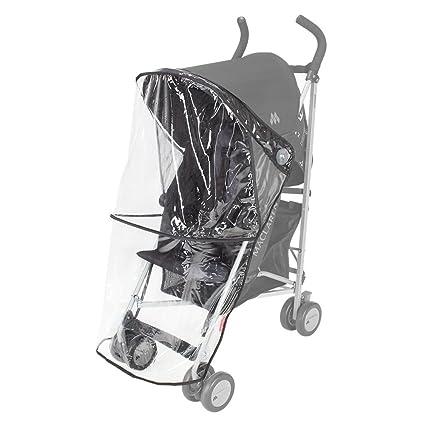 Maclaren Triumph/Quest - Burbuja de lluvia para silla de paseo, color transparente