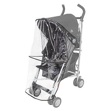 Maclaren Triumph/Quest - Burbuja de lluvia para silla de paseo, color transparente: Amazon.es: Bebé