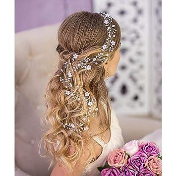 Wedding hair accessories Bridal hair piece Wedding hair piece Bridal hair accessories Wedding hair vine Baby breath hair vine wedding