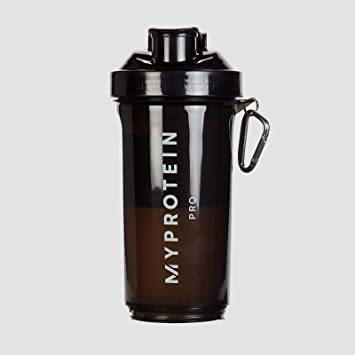 MyProtein Shaker Slim Botella Negra - 500 ml: Amazon.es ...