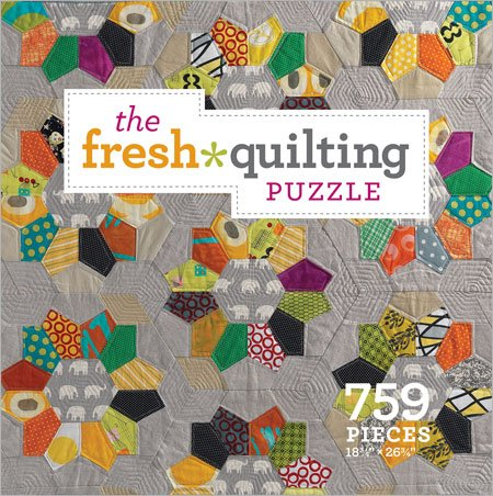 Fresh Quilting Puzzle Piece Jigsaw product image