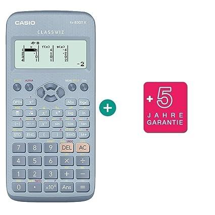 Garantieverl/ängerung auf 60 Monate Casio FX-83 GTX Pink