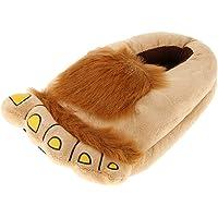 Baosity Hairy Plush Hobbit Feet Adventure Costumes Furry Adventure Slipper Gift