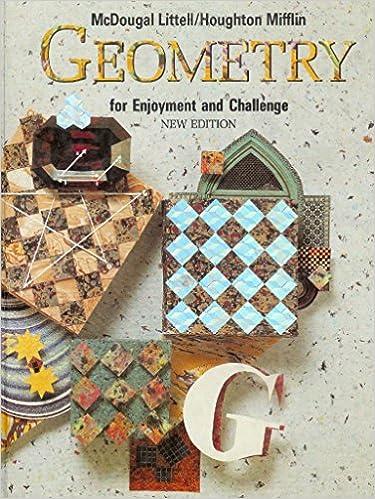 Amazon mcdougal littell geometry for enjoyment challenge mcdougal littell geometry for enjoyment challenge tr book geometry fandeluxe Choice Image