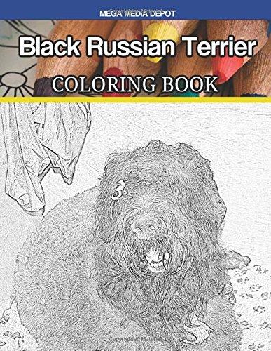 Download Black Russian Terrier Coloring Book PDF