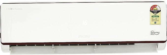 Voltas 1.5 Ton 3 Star Inverter Split AC  Copper, 183V JZJ R32 , White  Air Conditioners