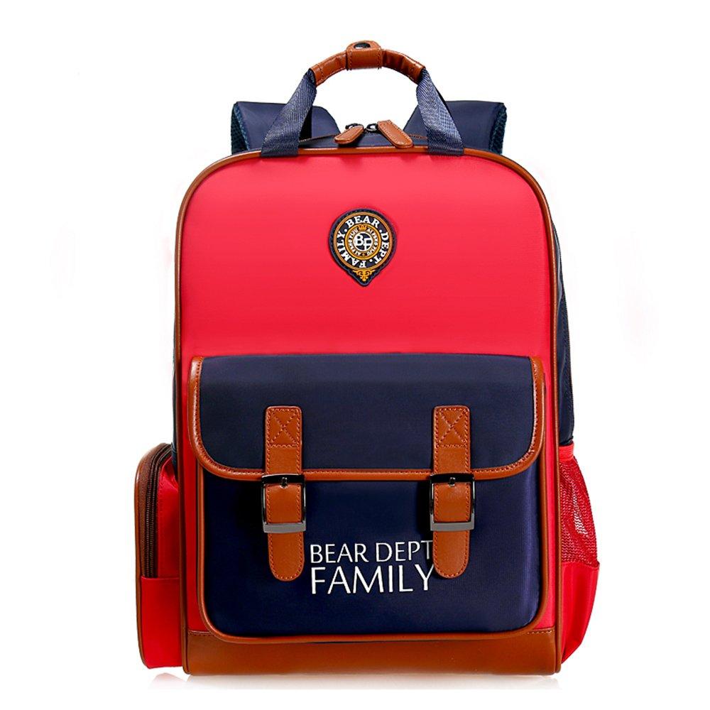 Good Bear Dept Family Kids Backpack British Style Children School