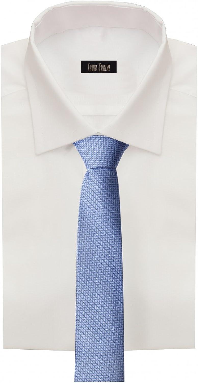 cresima Fabio Farini ballo. Elegante cravatta da uomo in 8 cm di larghezza in diversi colori per ogni occasione come matrimonio