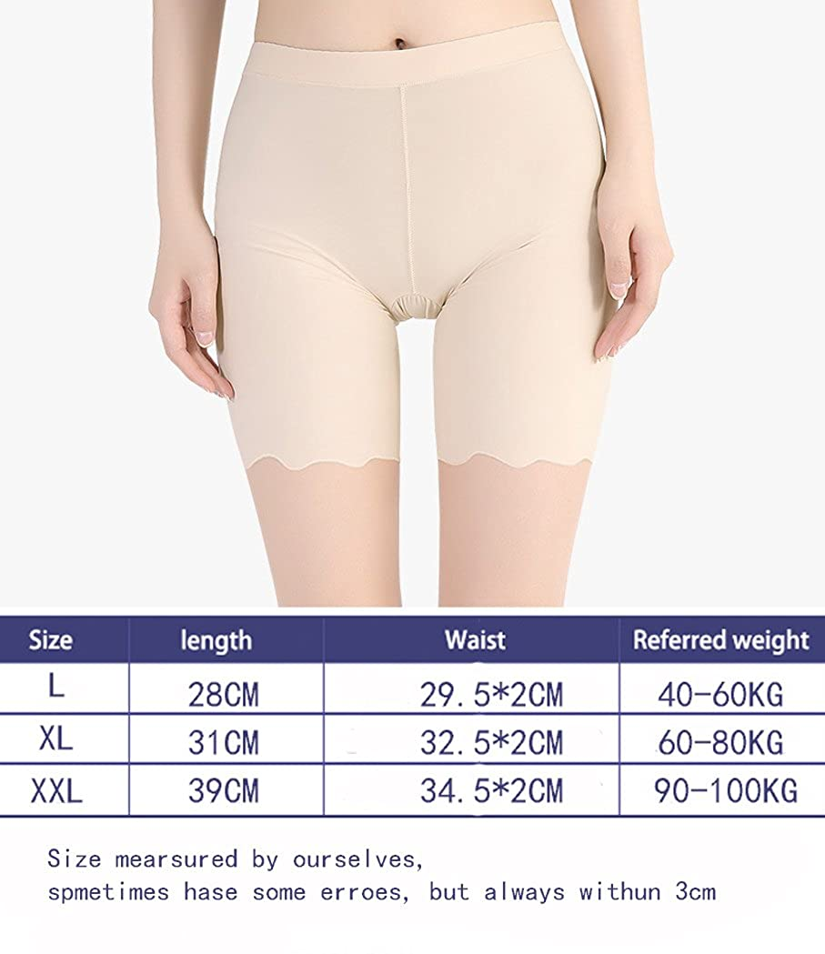 MMissy Boyshort Panties Womens Soft Underwear Briefs Invisible Hipster 3 Pack