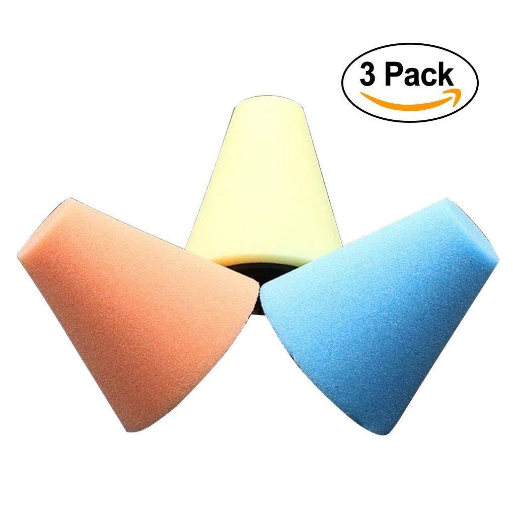 /Ruote per Automobili Care Conico Spugna Foam Pad lucidatura Cera lucidatura Pad Tool da Usare con Trapano/ ST love 3pcs 1//10,2/cm//6/mm