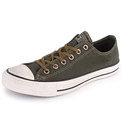 69905fc55b7 Converse Chuck Taylor All Star Better Wash Ox 142230F Unisex Laced Cotton  Trainers Dark Green - 6  Amazon.co.uk  Shoes   Bags