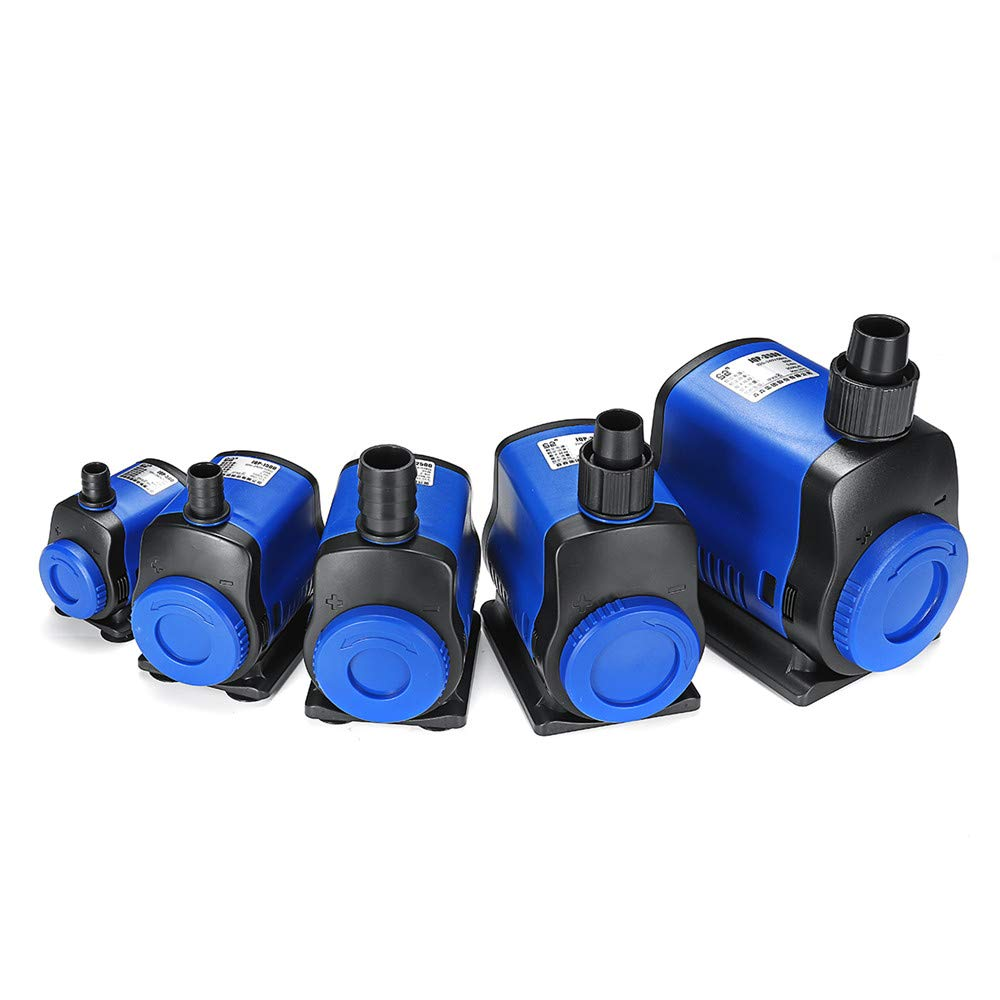 CoCocina 5/20/35/45/80W 220V Ultra Quiet Submersible Aquarium Water Pump Fish Tank Fountain Pond Filter - 80