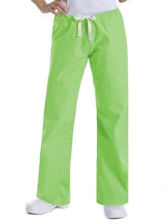 8944d1c77bc Landau Urbane Essentials 9502 Women's Relaxed Drawstring Scrub Pant Limeade  XSP