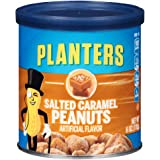 Planters Flavored Peanuts, Salted Caramel, 6 Ounce Canister