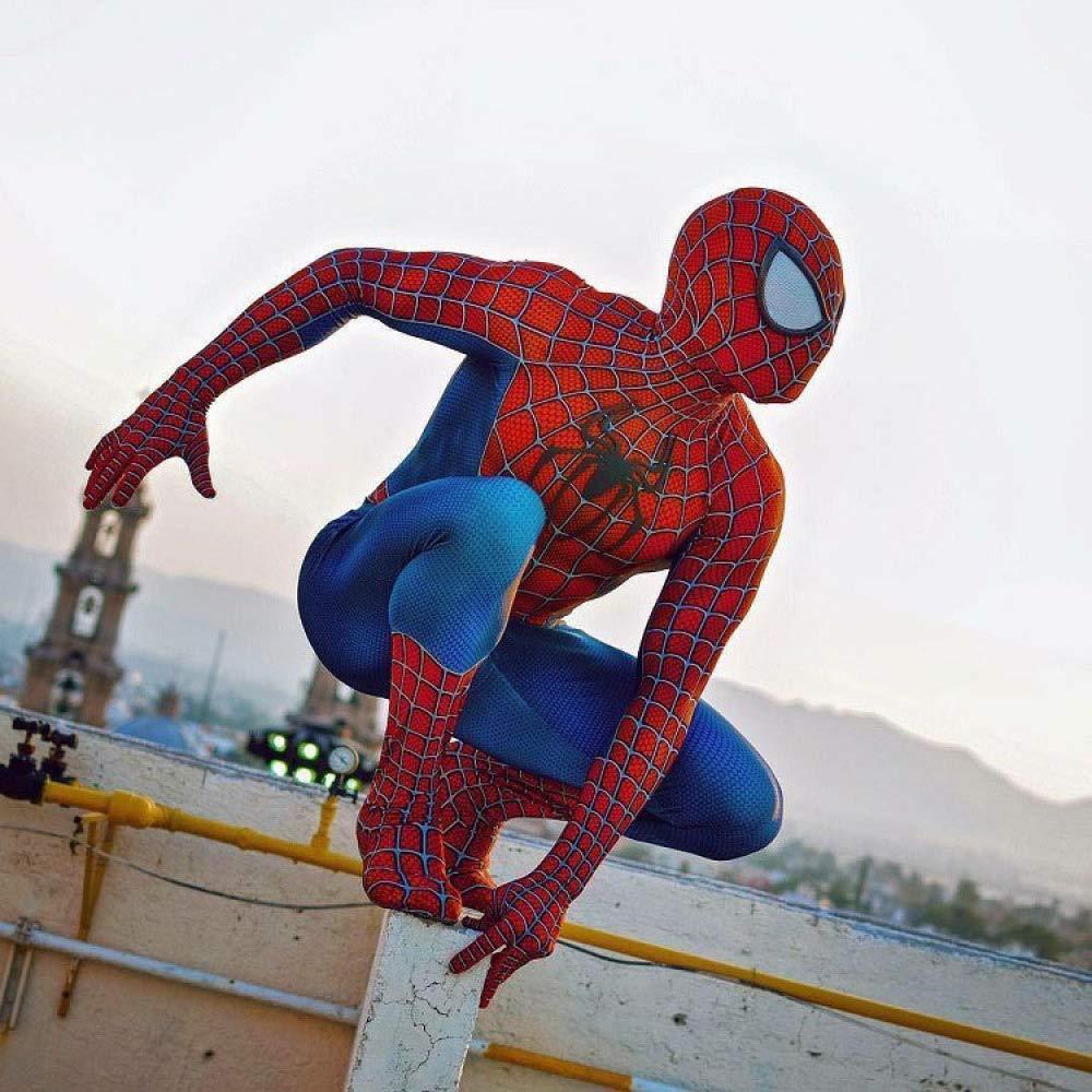 WEGCJU Medias De Toby Spiderman Clásicas Cosplay Ropa Siamesa con ...