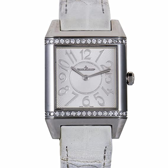 Jaeger LeCoultre Reverso cuarzo mujer reloj 234.8.47 (Certificado) de segunda mano