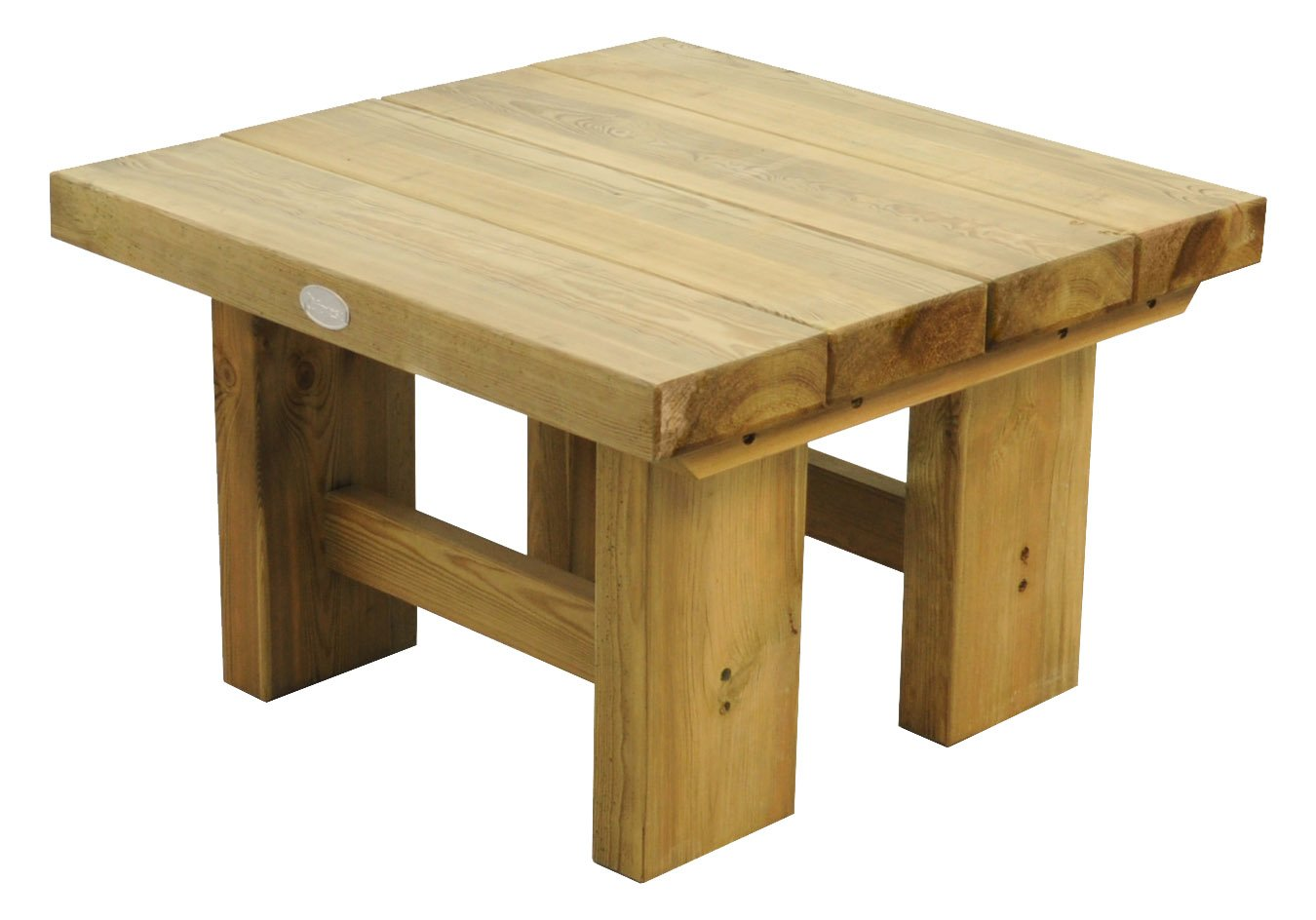 Forest Low Level Sleeper Table - 0.7m Forest Garden LSTAB07HD