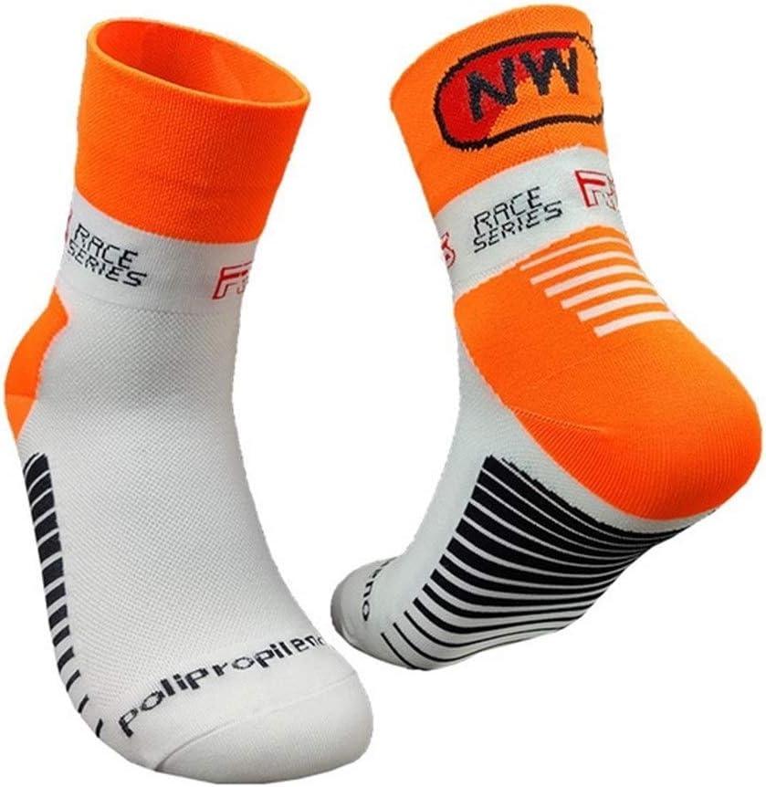 Jwyq Ciclismo Profesional Calcetines MTB Mujeres De Los Hombres Pegan La Bicicleta Camino De La Bicicleta Calcetines Deportes Al Aire Libre Que Compite con Los Calcetines