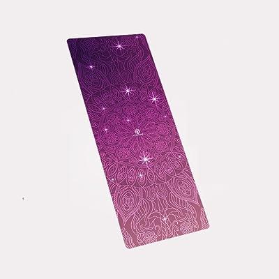 Tapis de yoga, caoutchouc naturel Tapis antidérapant Spécialité Tapis de fitness antidérapant Allonger Widen Tapis d'exercices pliable ( Couleur : #5 , taille : 1.5mm )