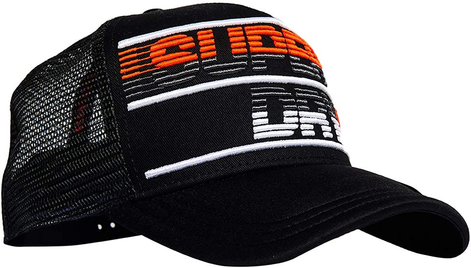 Superdry Trucker CREWER Racer - Gorra, Color Negro Negro Talla ...