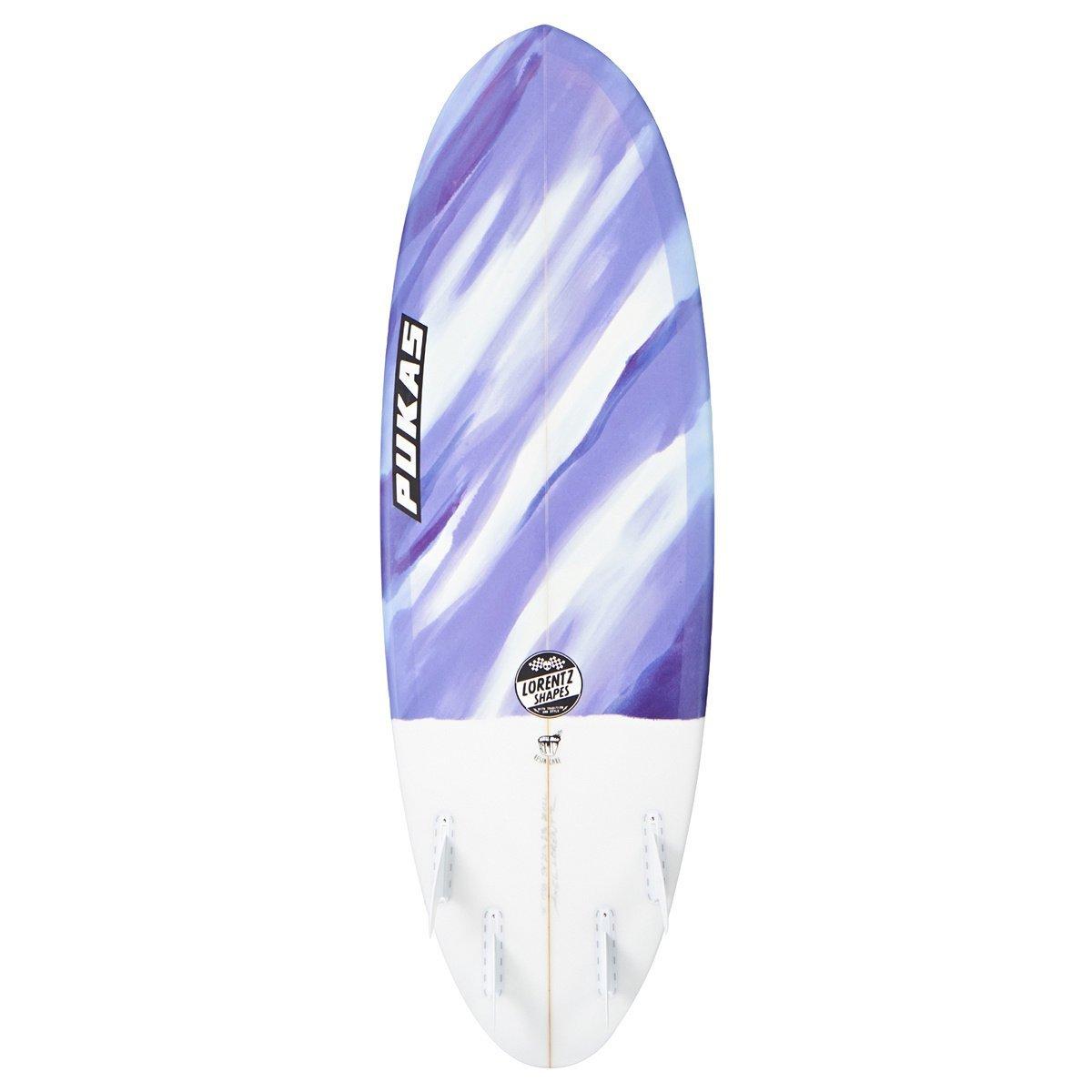 Resina de surf - futuros Pukas pastel púrpura Camo multicolor Talla:5ft 10: Amazon.es: Deportes y aire libre
