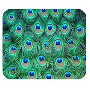 iphone covers Pink Ladoo? Colorful Peacock Feathers Personalized Rectangle Mouse Pad