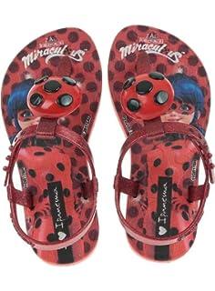 Chanclas Ladybug con Luces Flip Flop Prodigiosa Ladybug con Luz 26//27
