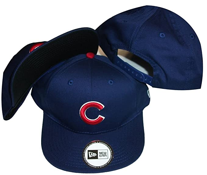 414a36a11ca Image Unavailable. Image not available for. Color  Chicago Cubs Blue Low  Profile Snapback ...