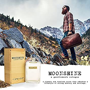 EastWest Bottlers – Moonshine, A Gentleman s Cologne, Repeal Your Prohibitions, 3.4 Fl. Ounces