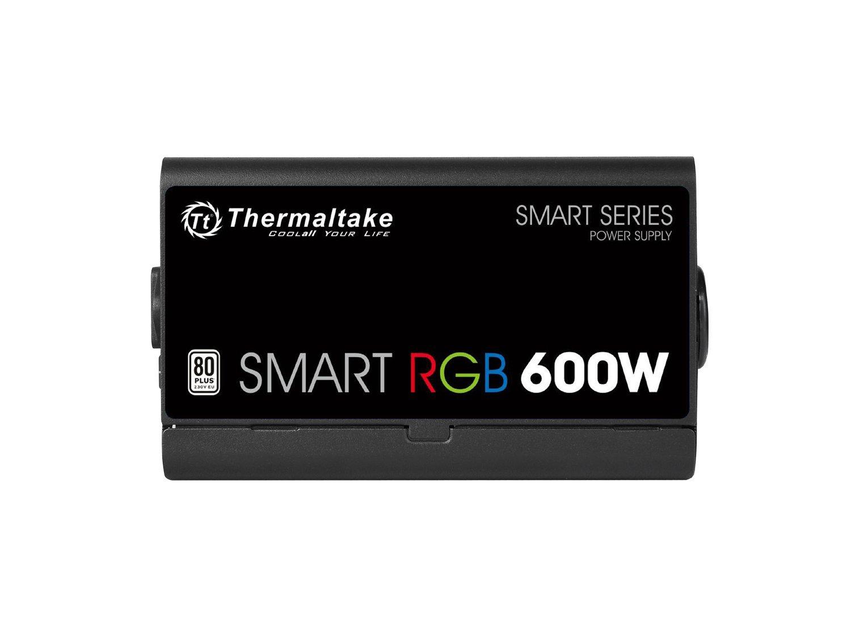 Thermaltake SMART 600W ATX 12V V2.3//EPS 12V 80 PLUS Certified Active PFC Power Supply PS-SPD-0600NPCWUS-W