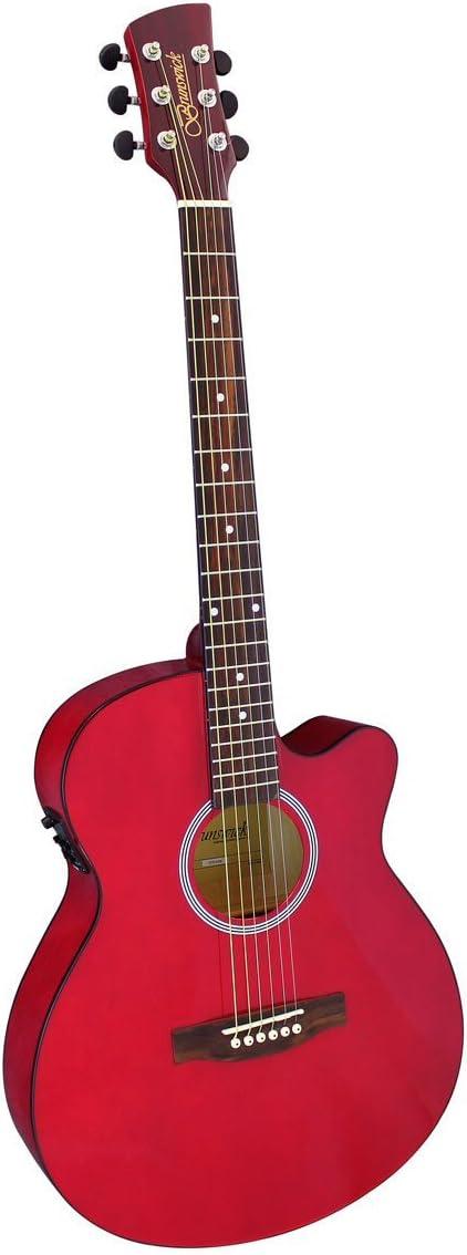 Brunswick–Slimline Auditorium–Guitarra electroacústica btk30