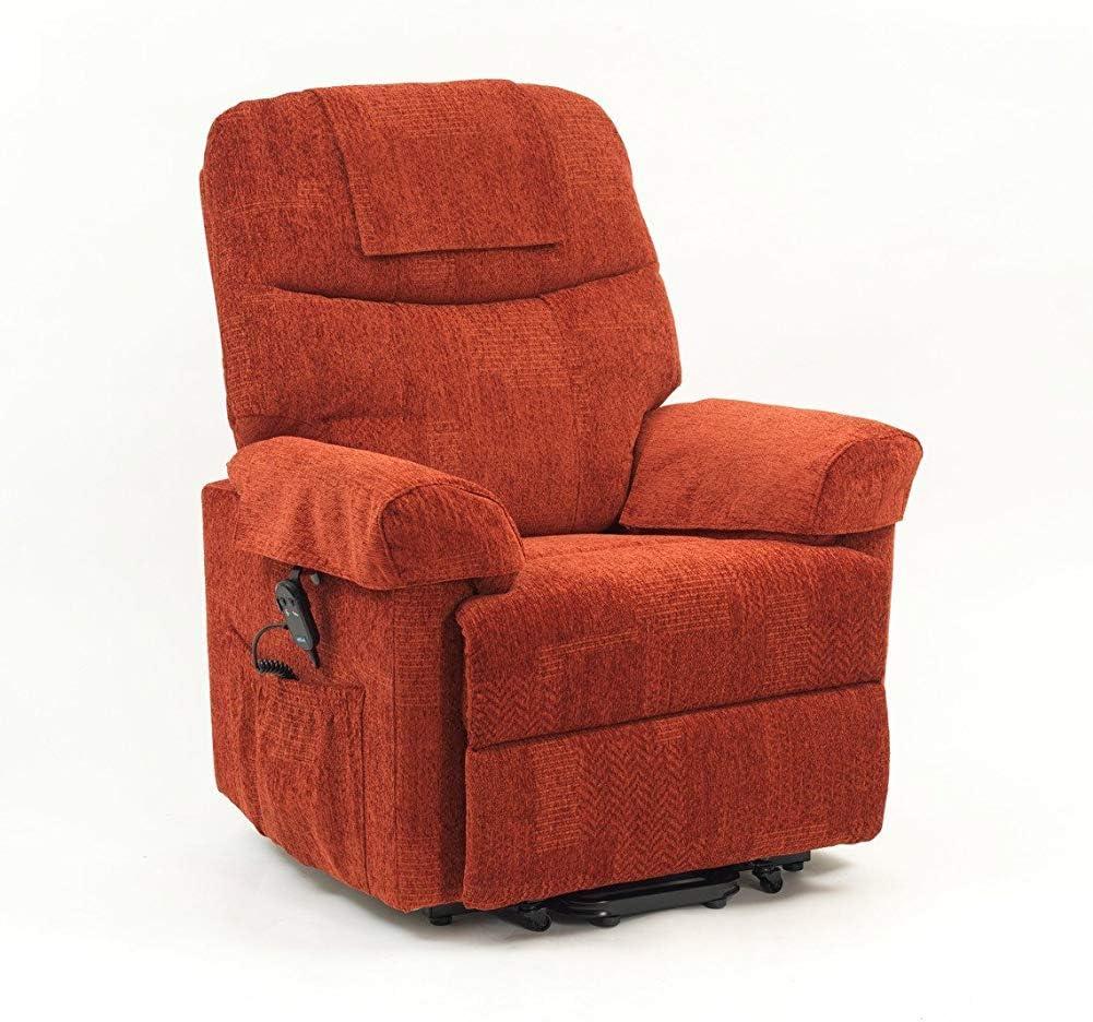 CHAIR Silla de ruedas, silla de rehabilitación médica para personas mayores, personas mayores, silla reclinable de un solo motor Larz Sillón ortopédico elevable e inclinabl