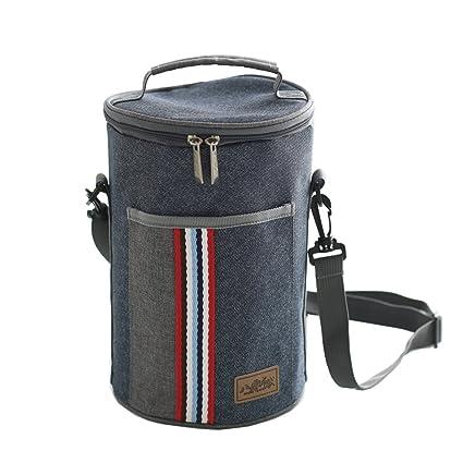 172557f18b6b Amazon.com: Baling Denim Blue with Stripe Washable Oxford Cloth ...