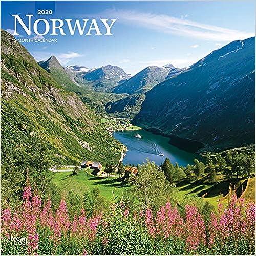 Livre pdf gratuit a telecharger Norway 2020 Calendar