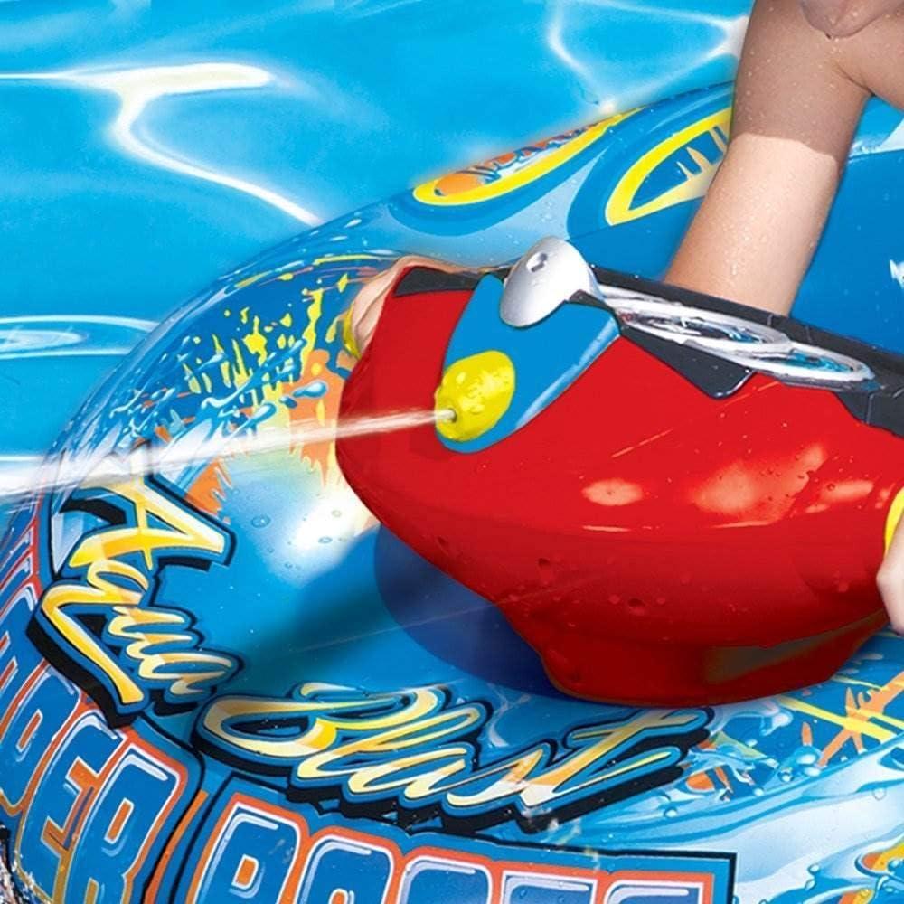 Amazon.com: Banzai Aqua Blast hinchable Barco de choque ...