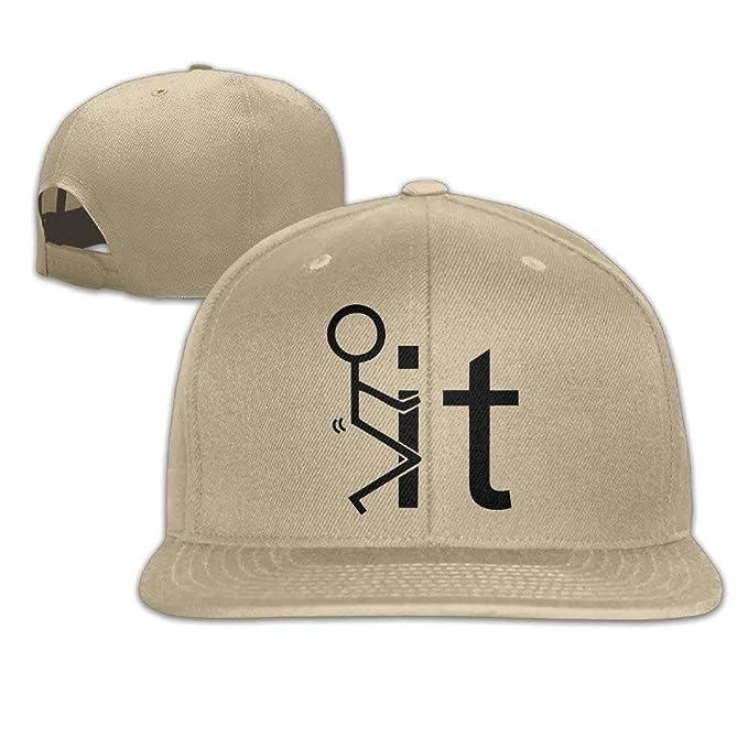 b1ab166d0ec Amazon.com  CFWL Fuck It Baseball Hat of Mens Cap White Baseball ...