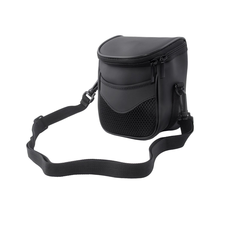 FOSOTO High Zoom Digital Camera Case Bag for Nikon Coolpix L340 B500 L330 L830 L840 L32 V3 V2 J5,Canon Powershot SX530 SX540 SX510 HS,Fuji S8650 S8600,Panasonic Lumix LZ40 LZ30 - Black