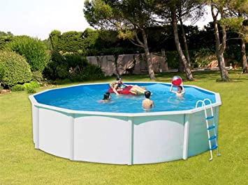 TOI - Piscina CANARIAS CIRCULAR + kit verano 230x120 cm Filtro ...