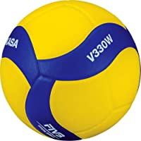 Mikasa Sports V330W - Balón de Voleibol para Jugar en Interiores