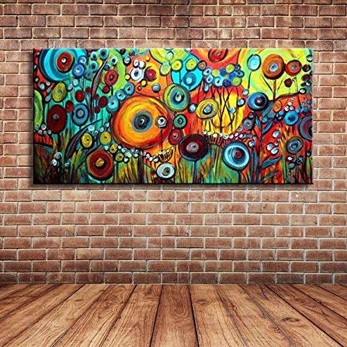 IPLST@ Grande tela moderna di paesaggio di primavera pittura di ...