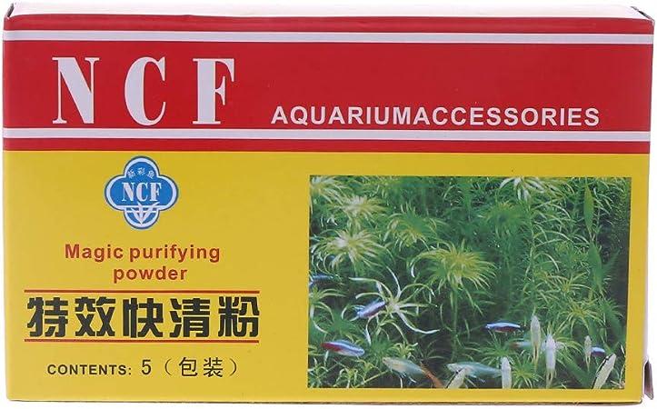 Purificador de acuario en polvo limpiador de agua eficiente inmune ...