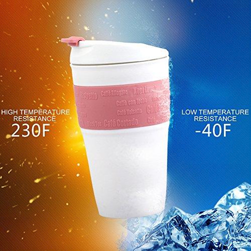 Gevalia Coffee Maker Leaks : ME.FAN Silicone Collapsible Travel Mug - Reusable Travel Foldable Cup - Leak Proof Locked Lid ...