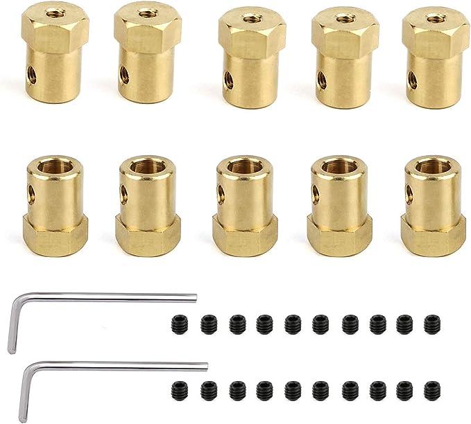 Amazon.com: Paquete de 10 conectores de acoplamiento ...