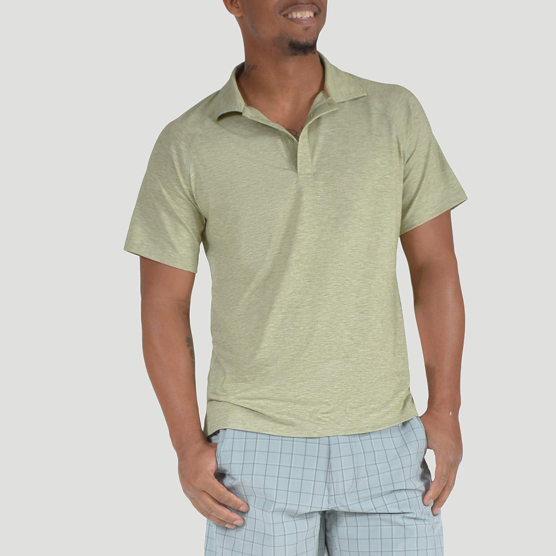 Mountain Khakis Mens Passage Polo Shirt Sun Protection Performance Shirt